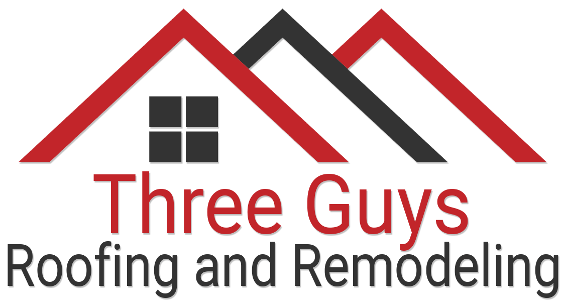 Three Guys Roofing and Remodeling Logo